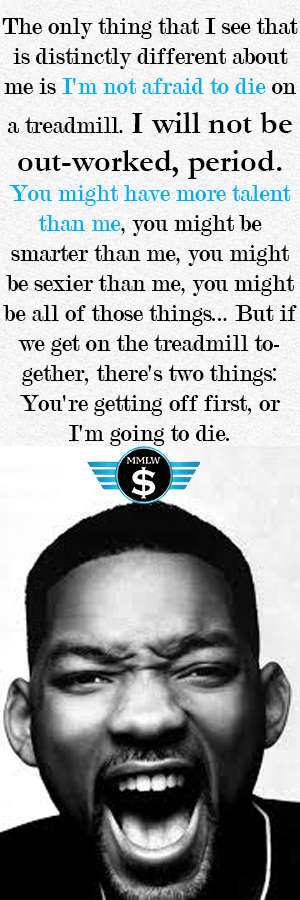Will Smith Hard Work Quote